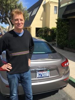 Man and Maserati