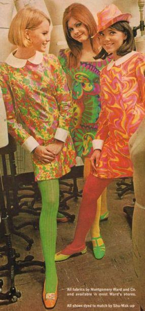 1965 neon girls