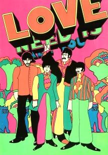 black light Beatles