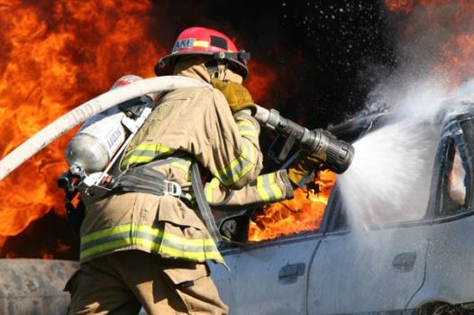 firefightercarhose