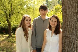 three kids