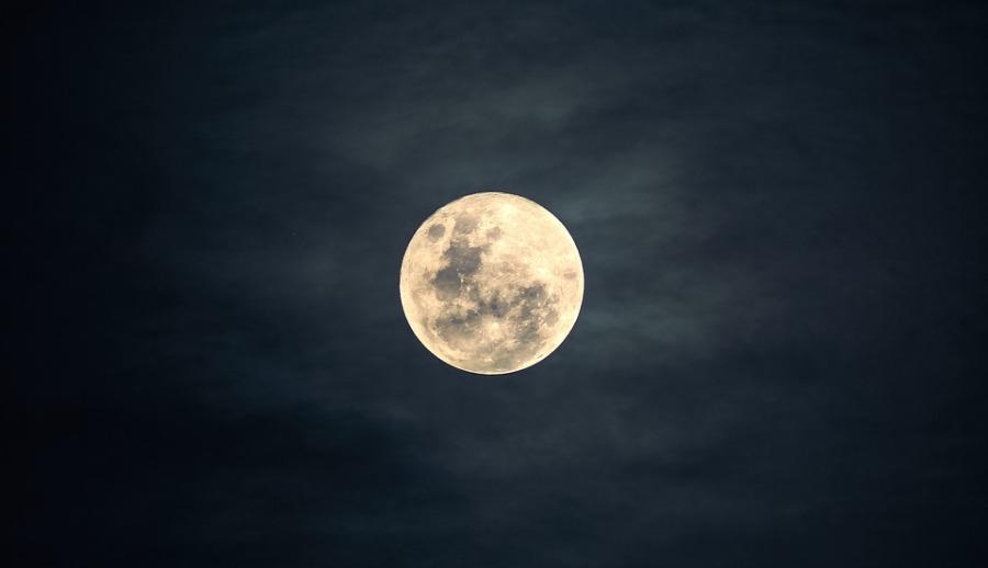 Moon Over Lafayette