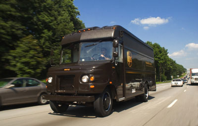 UPS Freeway Scare