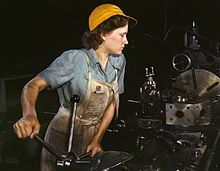 Rosie the Riveter Museum Lady